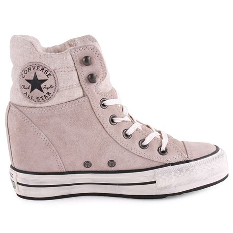 converse wedge sneakers converse chuck all platform womens grey wedge