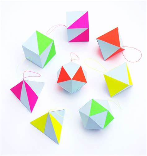 Neon Origami Paper - 25 best ideas about neon decorations on diy