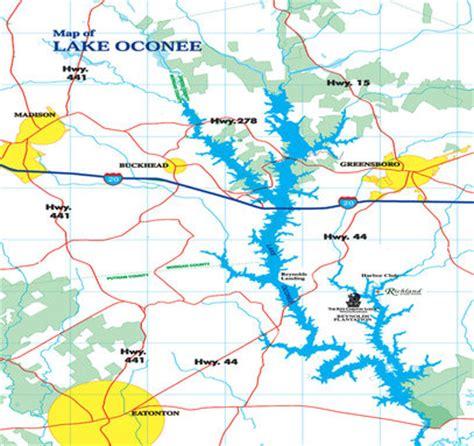 lake oconee map attractions oconee landing