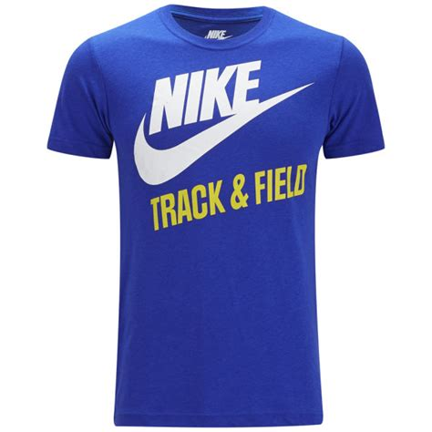Tshirt Kaos Nike Track And Field nike s track and field t shirt royal blue