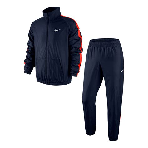 nike running clothes track suit season woven tracksuit