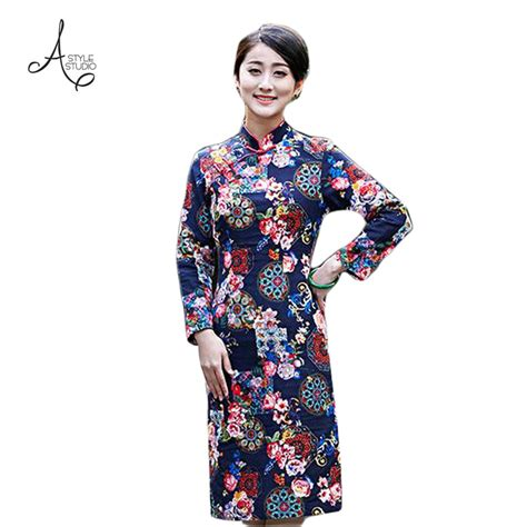 new year special clothes 2016 new dress qipao for traditional