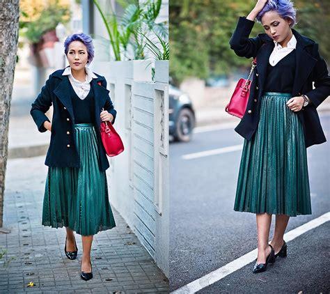 nilu yuleena thapa chic wish pleated skirt reliving