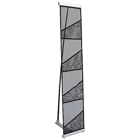 Mesh Literature Rack by Economy Mesh Literature Display Stand Trade Show Exhibits