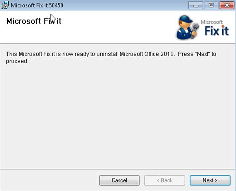 Office 2010 Uninstall Tool Microsoft Office 2010 Removal Tool Techdows