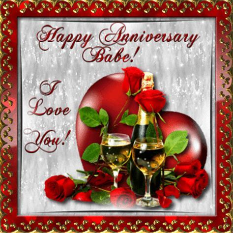 For You Babe! Free Happy Anniversary eCards, Greeting