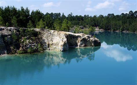 wallpaper alam biru lubang biru wallpaper pemandangan alam alam wallpaper