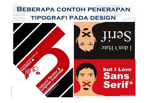 pengantar desain komunikasi visual adi kusrianto pdf prinsip dasar tipografi pada desain