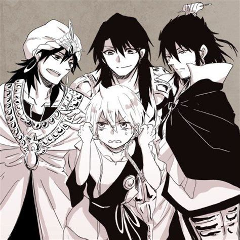 alibaba x kouen magi the labyrinth of magic ren kouen simbad alibaba
