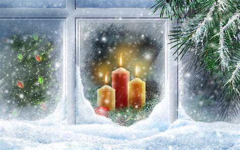 christmas lights widescreen wallpapers hd wallpapers