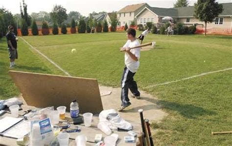 backyard dreams baseball field of dreams sprouts in chesterton back yard local
