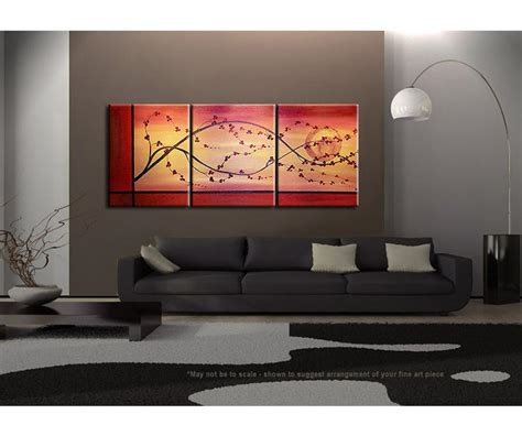 cherry blossom grasses moon and plum blossom painting cherry blossom painting branch and moon on gold and red