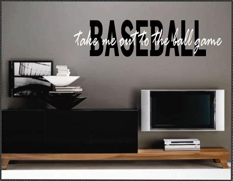 baseball home decor perfect baseball home decor on vinyl wall quotes home