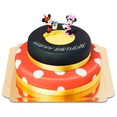 Decoration Gateau Anniversaire Mickey by G 226 Teau D Anniversaire Mickey Et Minnie Votregateau Fr