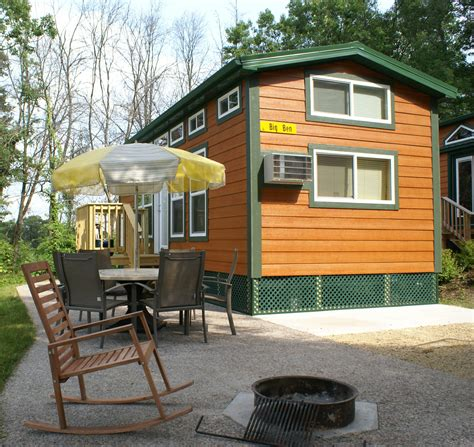 cool cing in a koa deluxe cabin