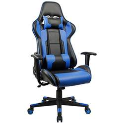 High Back Office Chair Lumbar Support by Homall Executive Swivel Leather Gaming Chair Racing Style