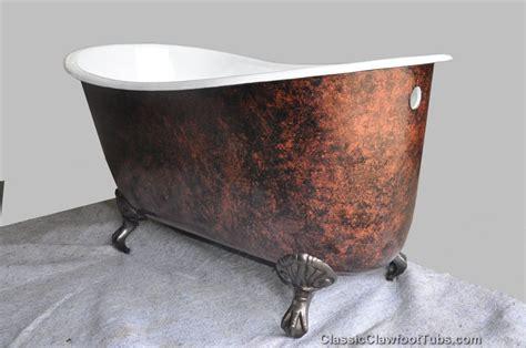 cast iron clawfoot bathtubs 58 quot cast iron swedish slipper tub classic clawfoot tub