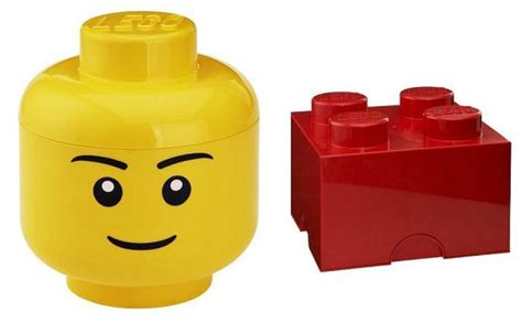 Lego Storage Containers Amazon - lego head amp brick storage containers only 19 99 reg 31 99 super coupon lady
