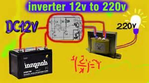 12 volt inverter schematic 12 get free image about