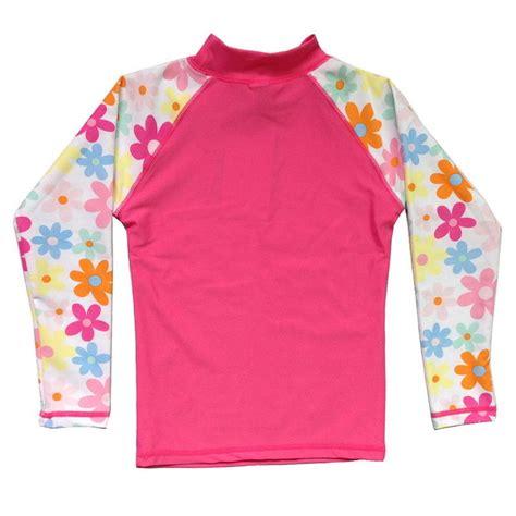 flower swimwear uv spf 50 sun protection