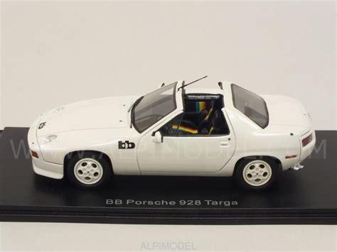 Porsche 928 Targa by Neo 46580 Porsche 928 Bb Targa White 1 43