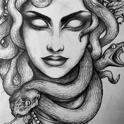 black tattoo art instagram medusa art drawing tattoo on instagram