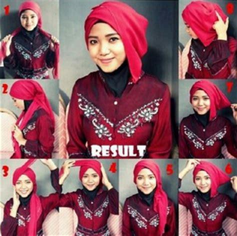 tutorial hijab untuk wisuda remaja cara memakai hijab untuk wisuda terbaru