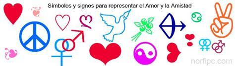 imagenes de simbolos amistad s 237 mbolos y signos para representar el amor y la amistad