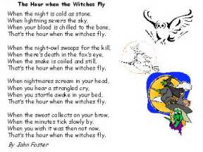 powerpoint poetry for primary ks2 on witches for halloween