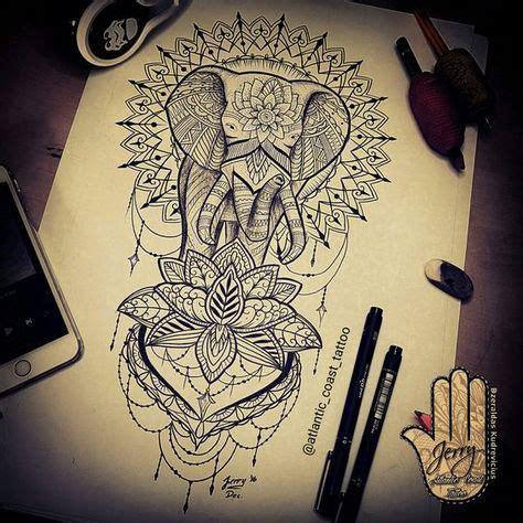 biaya tattoo di bali mandala elephant tattoo design idea by dzeraldas jerry