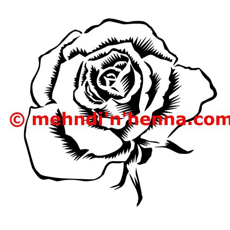 rose henna tattoos mehndi n henna tattoo designs and