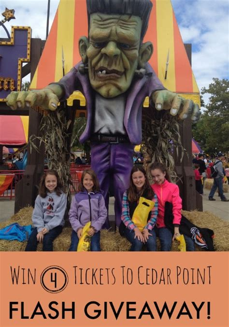 Cedar Point Giveaway - giveaways everyday savvy
