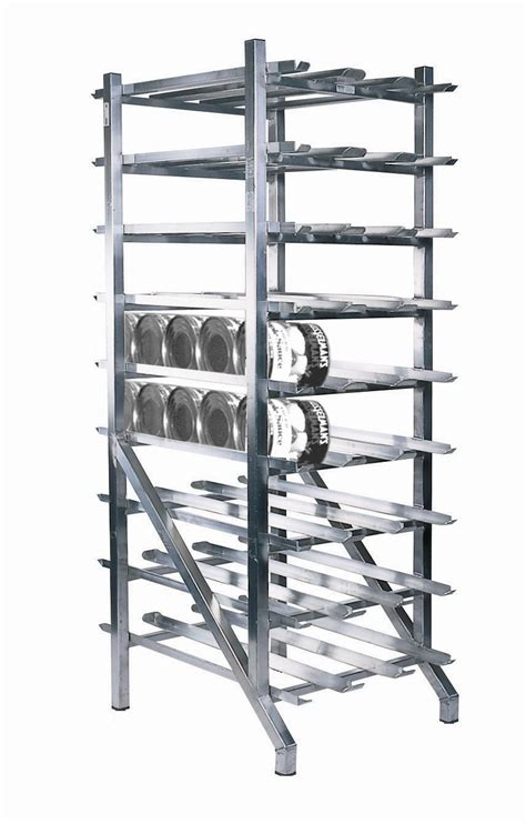 rack of organizes can stock and maximizes available space self feeding feature keeps stock rotated
