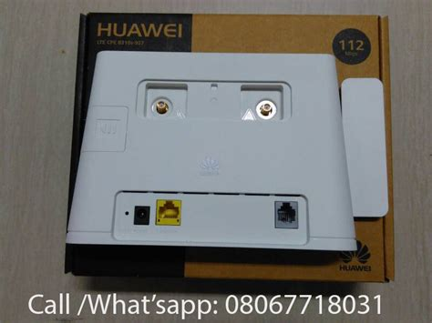 Router Huawei B310 lte router huawei b310 4g 150mbps unlocked works with any network operator ntel adverts nigeria