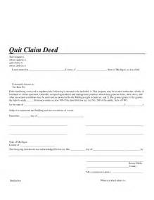 Quitclaim Deed Template by Best Photos Of Claim Deed Form Free Claim