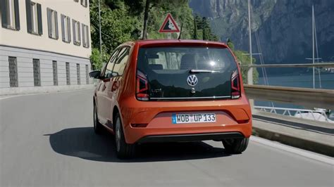 orange volkswagen 2016 orange volkswagen up drive