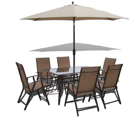 0n 163 8 santorini garden and patio set 6 chairs