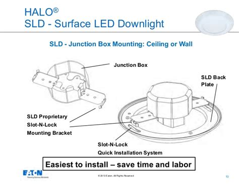 led lights that fit in junction box eaton s cooper lighting business halo surface led