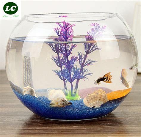 Desk Fish Bowl by Aquarium Fish Tank Aquarium Clear Glass For Your Desk