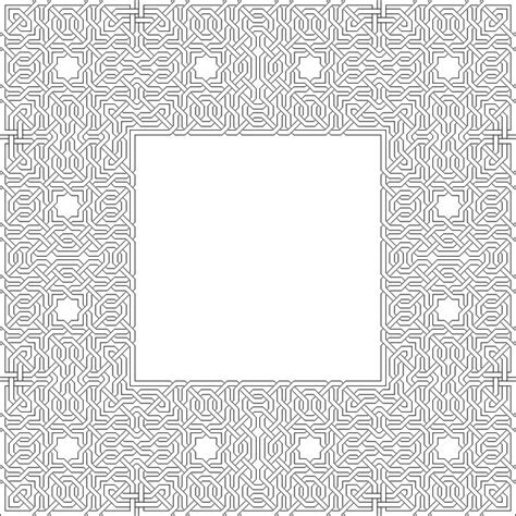 islamic tile coloring pages 103 best geometric patterns coloring pages images on