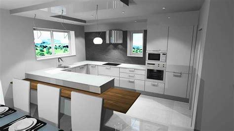 salon avec cuisine am駻icaine cuisine ouverte sur salon avec bar 3 indogate cuisine