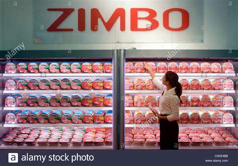 Sausage Shelf by Zimbo Sausage Shelf Stock Photo Royalty Free Image