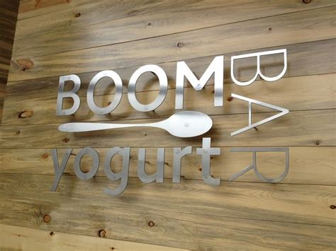 idea for wood metal mix decorations 25 best ideas about business signs on pinterest room