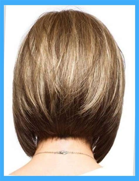 setting a bob hairdo medium stacked bob haircut back view www pixshark com