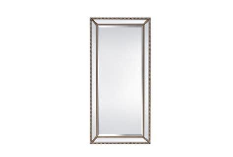 beaded leaner mirror leaner mirror beaded 35x71 living spaces