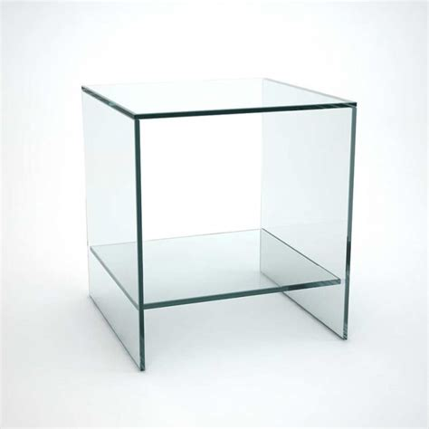 glass side table with drawer ghotam smoked glass table with drawer klarity glass