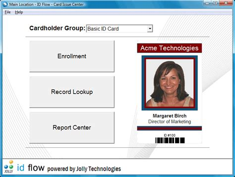photo id card software free id flow photo id card software free