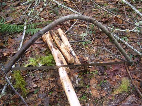 How To Make Handmade Bows - bow saw woodsman tools