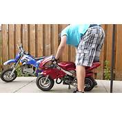 50cc 2 Stroke Pocket Bike And Mini Dirt For Sale