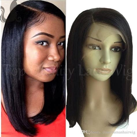 human hair enclosure cheap italian yaki full lace wig bob virgin brazilian
